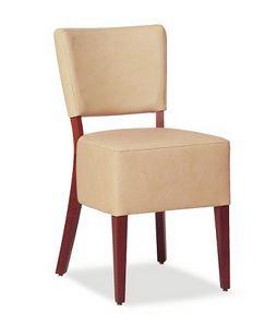 325, Chaise avec grand siège rembourré