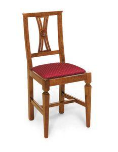 Art. 123, Chaise de style classique avec assise rembourrée