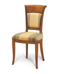 Art. 154, Chaise rembourrée pour salle à manger de style classique