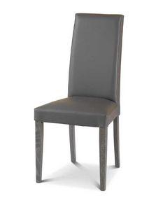 Art. 174/VC, Chaise de salle à manger rembourrée avec dossier haut