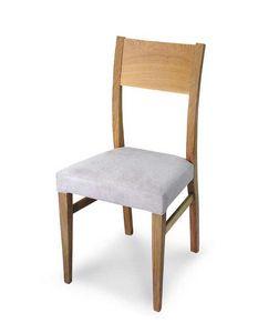Art. 179/M, Chaise moderne avec assise rembourrée