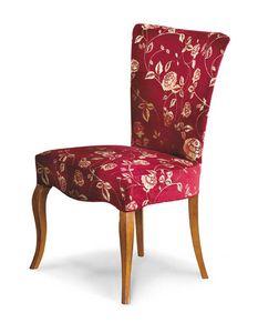 Art. 188/P, Chaise rembourrée pour restaurant et hôtel