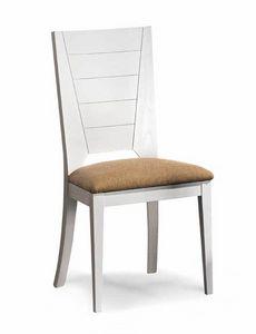 Art. 193/S, Chaise de salle à manger avec siège rembourré
