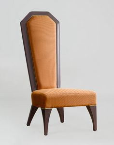 BS384S - Chaise, Chaise impériale à haut dossier