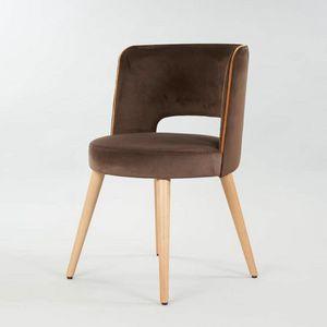 BS469A - Chaise, Chaise � dossier arrondi