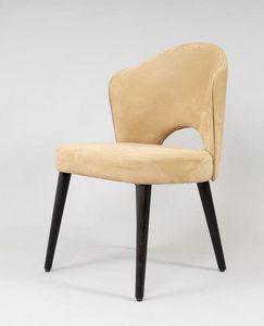 BS490S - Chaise, Chaise avec rev�tement en nabuk �cologique