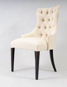 BS530A - Chaise, Chaise à dossier capitonné