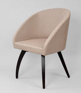 BS602A - Chaise, Chaise avec revêtement en lin technique