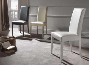 Cream, Confortable chaise rembourrée pour salle à manger