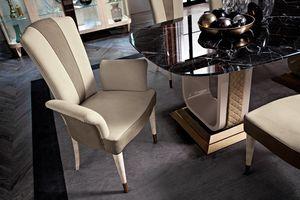 Diamond chaise, Chaise de salle à manger rembourrée