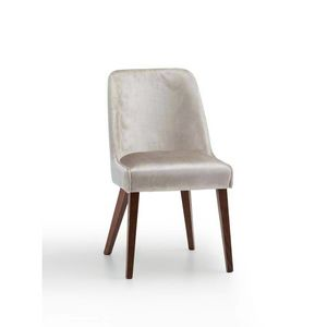 Helen, Chaise en bois rembourr�e