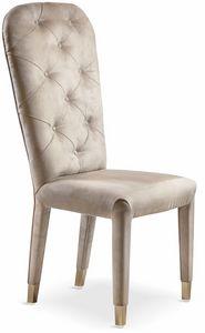 Liz haute, Chaise design classique Evergreen