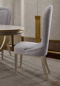 Oliver Art. OL10, Chaise de salle à manger simple et sophistiquée