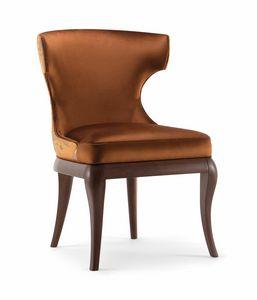 ROSE SIDE CHAIR 066 PO, Chaise classique et élégante