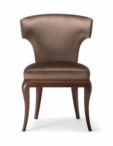 ROSE SIDE CHAIR 066 S, Chaise aux lignes classiques