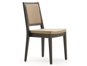 Saba-SI, Chaise empilable moderne en bois