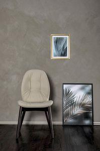 SORRENTO EASY, Chaise avec structure en bois sans rainage