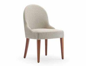 Tina-S, Chaise pour hôtels et restaurants, tapissée