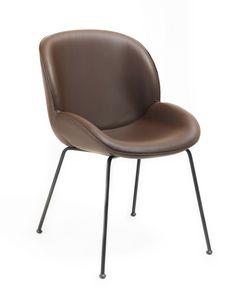 Mimì, Chaise moderne confortable et élégante