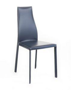 Voilà, Chaise en cuir moderne