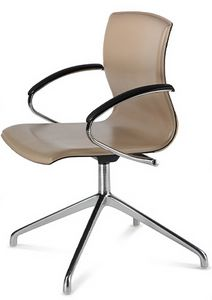 WEBTOP 399, Chaise moderne avec accoudoirs