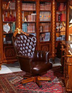 Art. 635, Fauteuil Présidentiel pour les bureaux de luxe, rembourrage matelassé