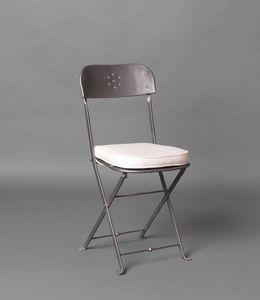 PILA GF4018CH, Chaise pliante en fer pour usage extérieur