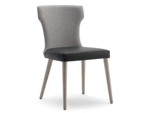 Tilly-S, Chaise avec rembourrage en polyuréthane ignifuge