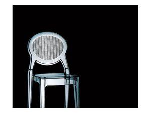 Barbarella, Chaise moderne, pour une utilisation intérieure et extérieure