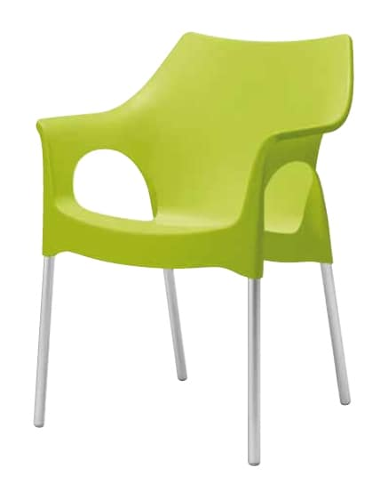 Olga, Chaise pour jardins et bars extérieurs
