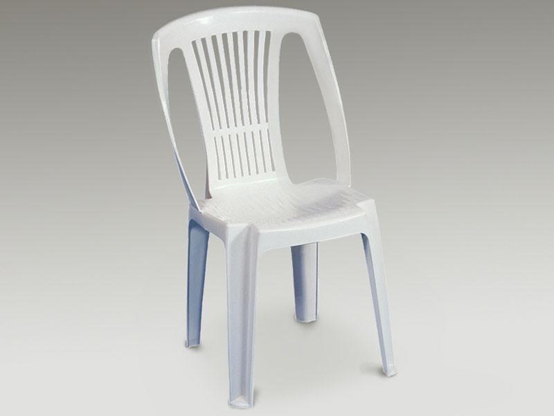 Stella, Chaise en plastique pour une utilisation extérieure