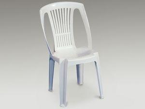 Stella, Chaise en plastique pour une utilisation ext�rieure