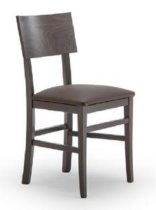 165, Chaise en bois de hêtre, pour contrat