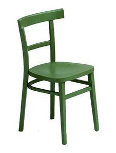 229 B, Chaise Laqué, en bois de hêtre