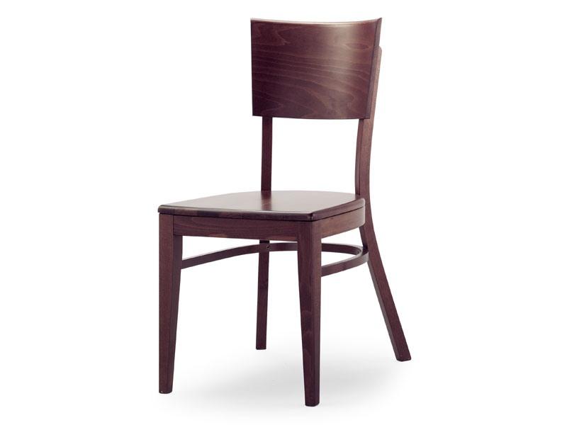 A2, Chaise en bois sans accoudoirs