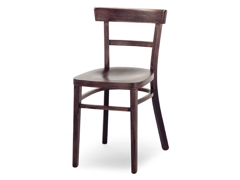 A4, Chaise en bois sans accoudoirs, pour les bars et restaurants