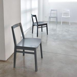 ART. 255 TWIST, Simple chaise, faite de bois de hêtre, le café pâtisserie