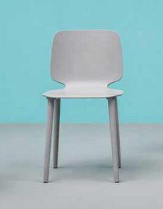 Babila, Chaise élégante et moderne en bois