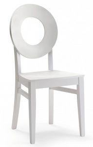 C24, Chaise en bois dans un style moderne pour le contrat et l'usage domestique