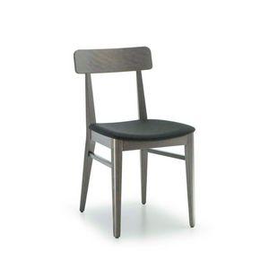 C68, Chaise en bois pour bars et restaurants