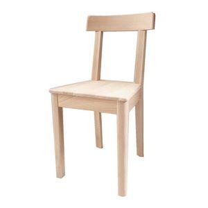 Gisella, Chaise robuste en bois de hêtre