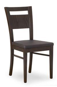 Lory, Chaise avec siège rembourré confortable