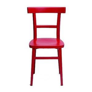 Milano laccata, Chaise en bois laqué disponible en différentes couleurs