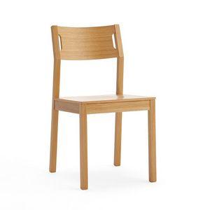 Moijto bois, Salle à manger chaise en bois de hêtre, assise en contreplaqué