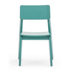 Offset 02811, Chaise en bois massif, dans un style moderne