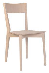 SE 460, Chaise entièrement en bois, pour les restaurants et les hôtels