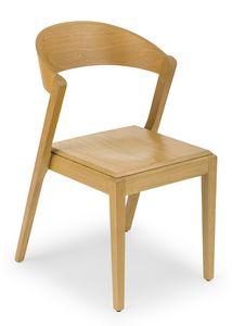 Zanna wood, Chaise entièrement faite en bois