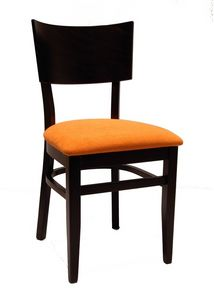 0512, Chaise pour restaurant, avec assise en tissu