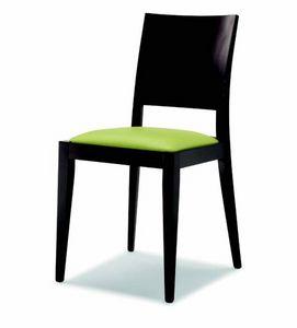 100 Masha, Chaise avec siège rembourré