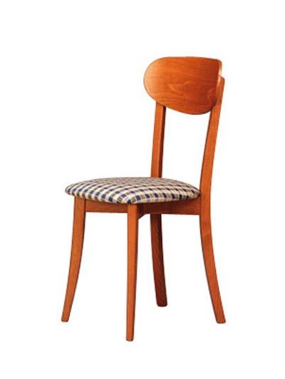 250, Salle à manger chaise avec assise rembourrée pour salle à manger